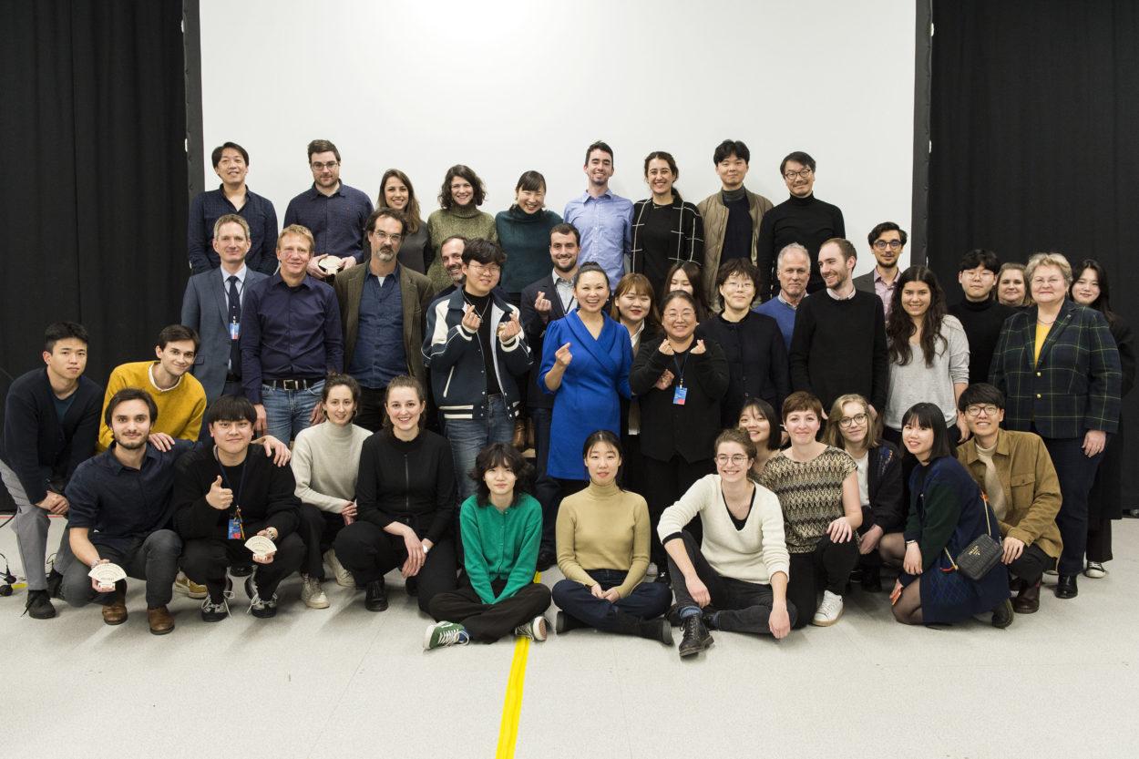 Presentations finales dans le cadre du projet ARC-HEST à la Halle bleue à blueFACTORY, le vendredi 14 fevrier 2020 a Fribourg. (© Thomas Delley)