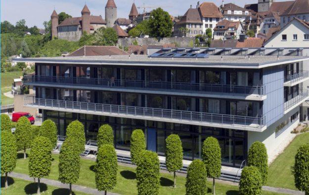 Hôpital intercantonal de la Broye © Jean-Paul Guinnard