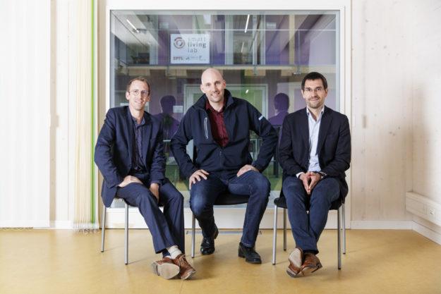 ReuSlab: Corentin Fivet (EPFL), Sébastien Emmery (Stephan SA), Dario Redaelli (HEIA-FR) © Horsform | Nicolas Brodard